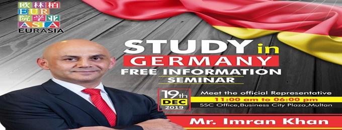 study in germany information seminar & on spot admissions