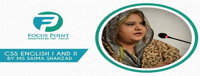 CSS 2020 - Eng I and II by Ms Saima Shahzad | Karachi - Bookitnow pk