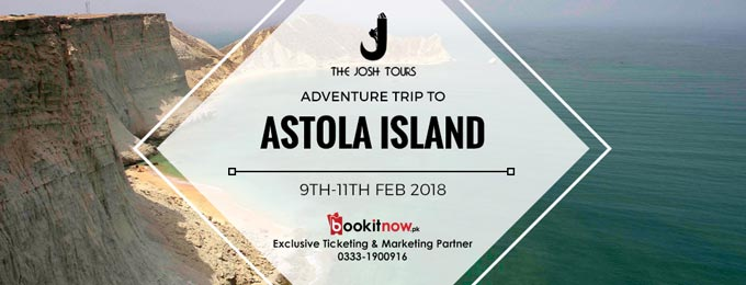 "Karachi Se Astola Island, ""Journey of exploring an unexplored"""