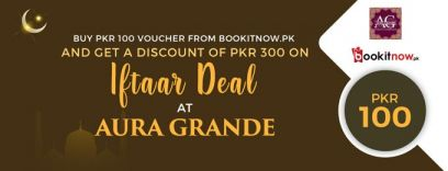 iftaar deal - aura grande