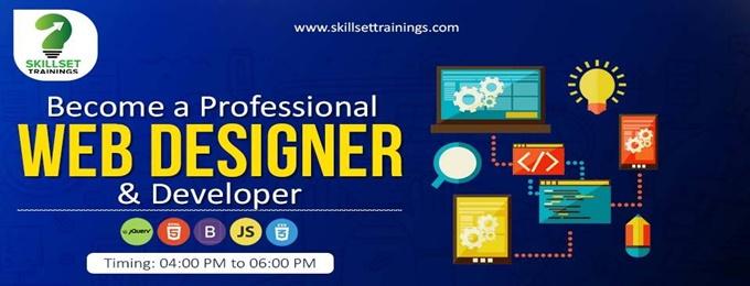 become a professional web designer and developer