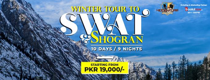 Winter Tour to Swat, Kalam, Malam Jabba & Shogran | 10 Days