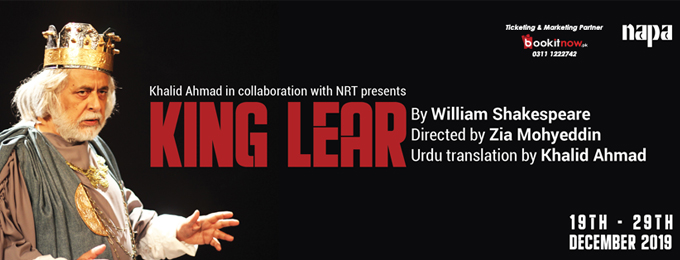 King Lear, directed by Zia Mohyeddin