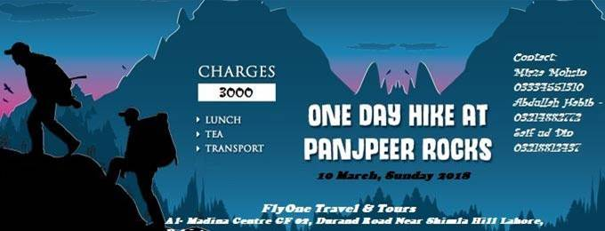 One Day Hack at Panjpeer Rocks | Lahore - Bookitnow pk