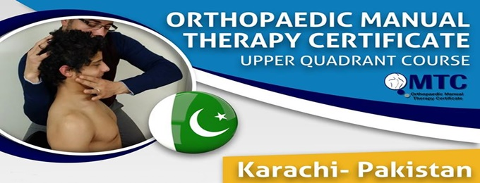 orthopaedic manual therapy certificate ( upper quadrant course)