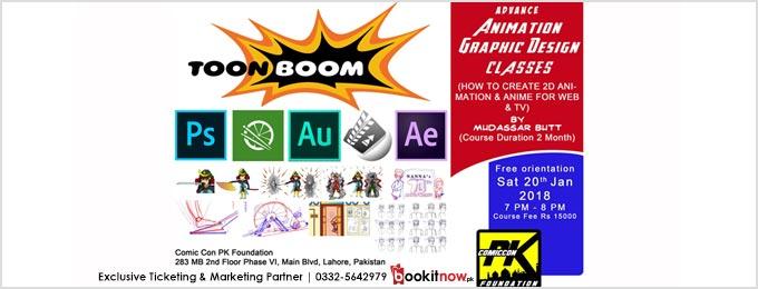 Advance Animation Graphic Design Batch 02