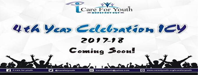 4TH Year Celebration & Youth Icon Award's 2017-18