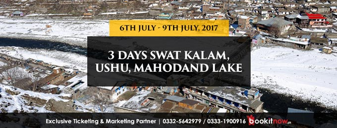 3 days trip to swat kalam, ushu, mahodand lake islamabad