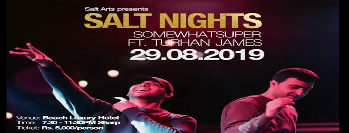 salt nights: somewhatsuper + turhan james