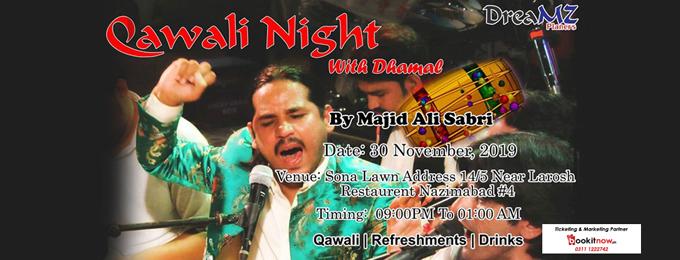 Qawali Night (with Dhamal)