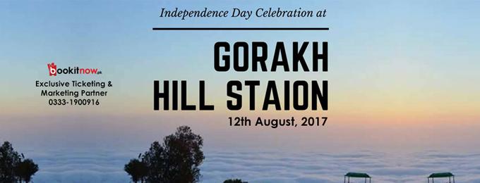 Independence Day Celebration at Gorakh Hill Station