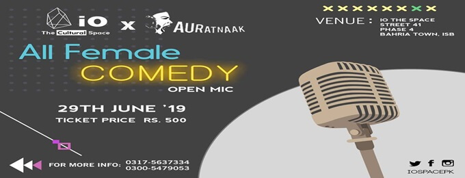 all female comedy (open mic)