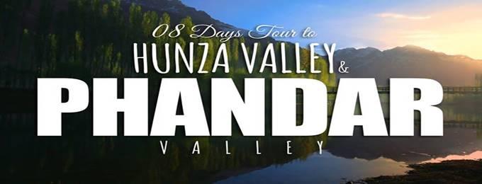 8 days tour to hunza & phandar valley