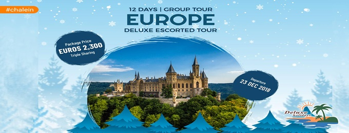 europe deluxe escorted tour