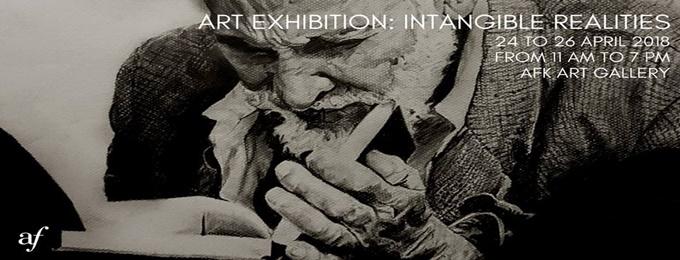 art exhibition: intangible realities