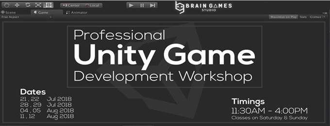 professional unity game development workshop
