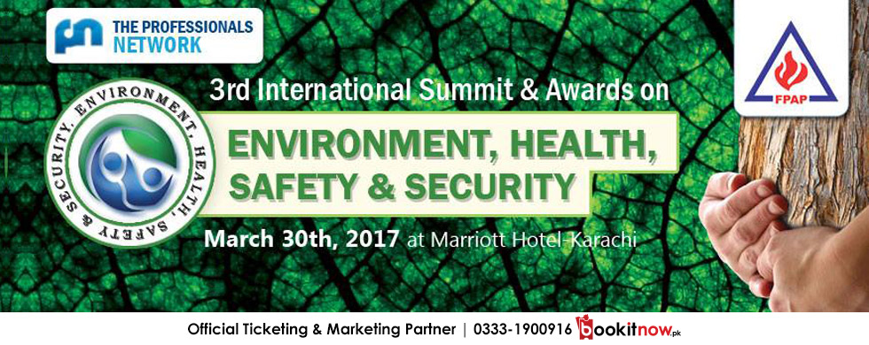 3rd int'l summit & awards on environment, health & safety