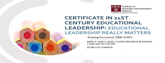 certificate in 21st century educational leadership: educational