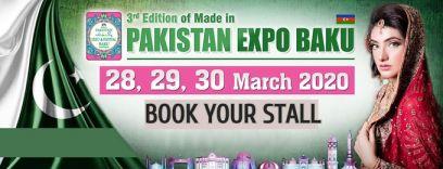pakistan expo and festival baku 2020 - www.pakistanexpo.net