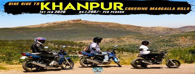 ride to khanpur dam loop tour crossing margala hills