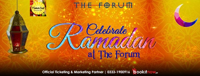 time out - the forum cafe iftar & dinner buffet