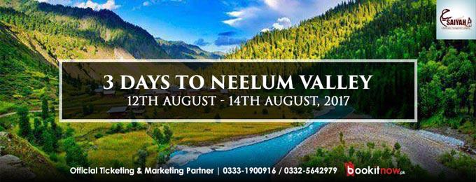 3 Days to Neelum Valley