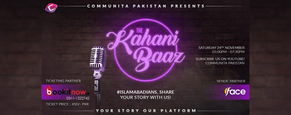 the kahani baaz - a storytelling show by communita