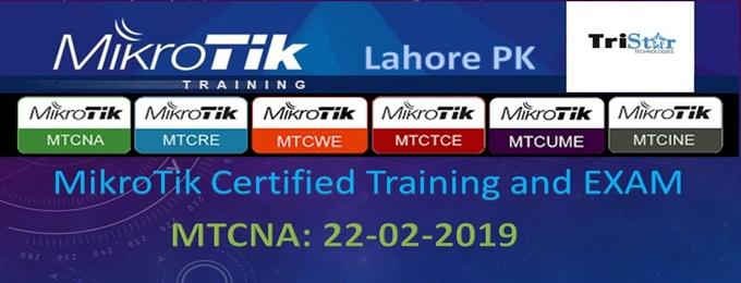MikroTik Certified Training + EXAM   Lahore - Bookitnow pk