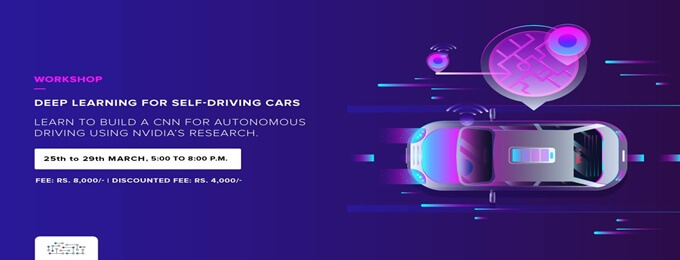 workshop on deep learning for self driving car