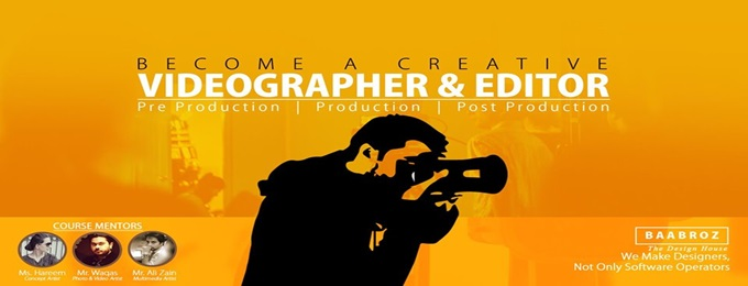 learn creative videography & editing (14th batch)