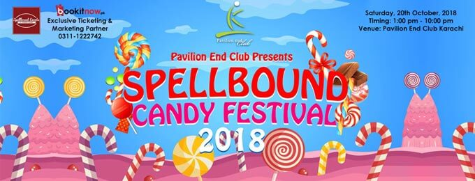 spellbound candy festival, 2018 | pavilion end club