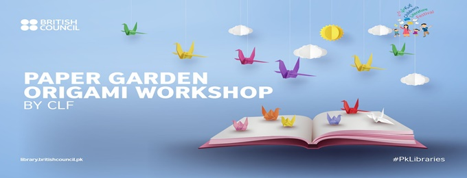 paper garden: an origami workshop