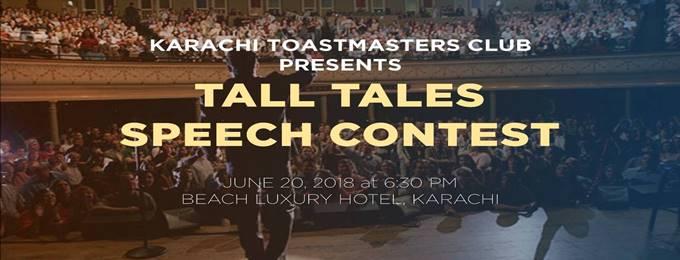 tall tales speech contest