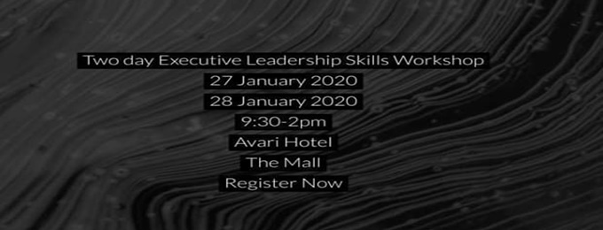 executive leadership skill workshop