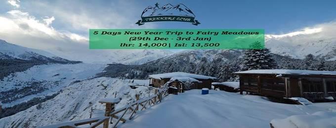5 days fairy meadows winter survival (new year) 29 dec - 03 jan