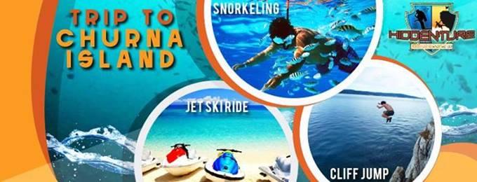 snorkeling at churna island
