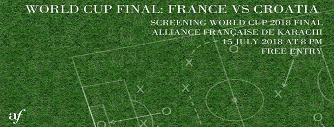 World Cup Final: France vs Croatia