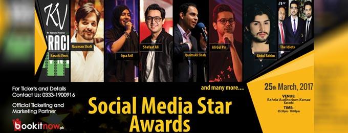 social media star awards