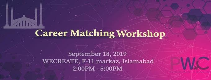 pwic islamabad: career matching workshop