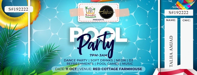 dance & pool party