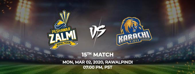 Peshawar Zalmi vs Peshawar Zalmi 15th Match (PSL 2020)