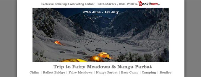 5D 4N Trip to Fairy Meadows & Nanga parbat base camp Lahore