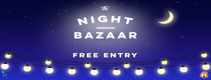 night bazaar @hangout