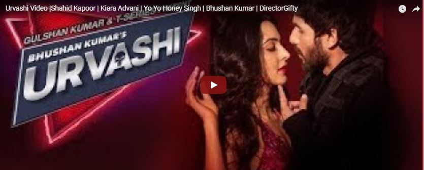 Urvashi Official Music Video | Shahid Kapoor, | Yo Yo Honey Singh