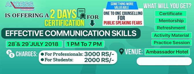certification for effective communication skills