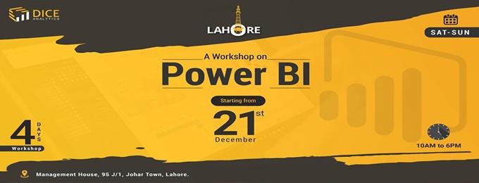 lahore: power bi workshop