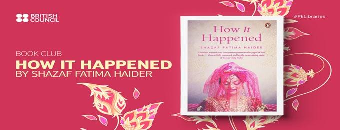 book club: how it happened by shazaf fatima haider