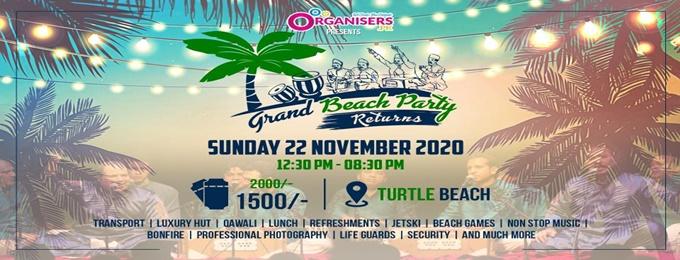 grand beach party returns