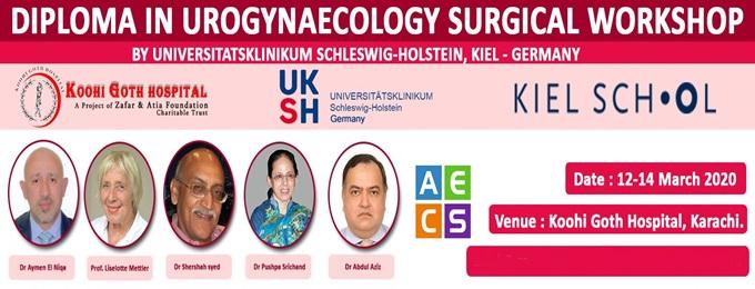 diploma in urogynaecology practical-workshop – pakistan