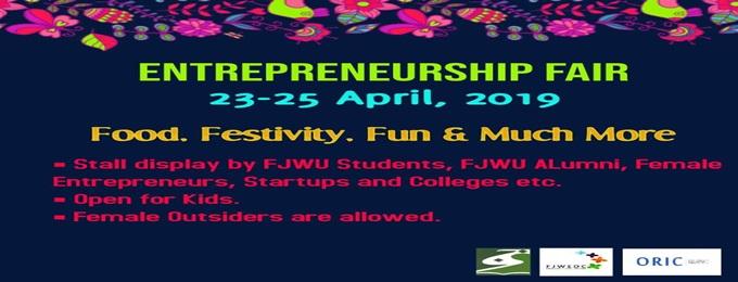 fjwu entrepreneurship fair (spring 2019)